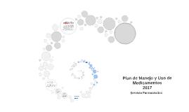 Plan de Manejo y Uso de Medicamentos