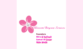 Blossom Daycare Services