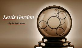 Lewis Gordon