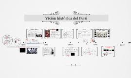 Visión histórica del Perú
