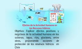 Copy of efectos de la actividad humana en los recursos hídricos