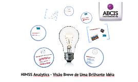 HIMSS Analytics - Apresentação ABCIS