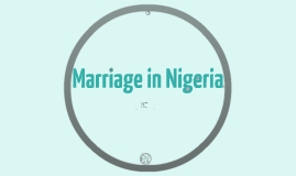 Marriage in Nigeria