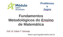 Fundamentos Metodológicos do Ensino de Matemática