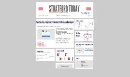 STRATFORD TODAY