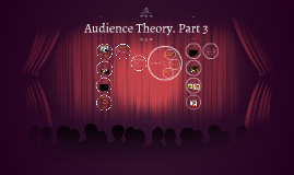 Audience Theory. Part 3