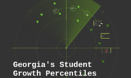 Georgia's Student Growth Percentiles