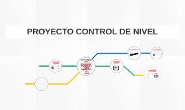 PROYECTO CONTROL DE NIVEL