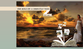 Copy of THE ROLE OF A CHRISTIAN WIFE