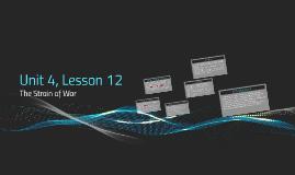Unit 4, Lesson 12