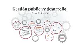 Gestión pública y desarrollo