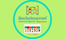 Bachelorproef - Engels
