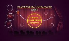 PLATAFORMA UNIFAIDATE