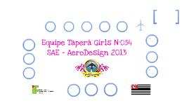 Equipe Taperá Girls N°054