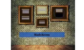 Math Access