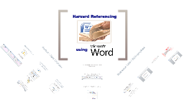Harvard Referencing with Microsoft Word