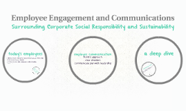 Employee Engagement and Communications