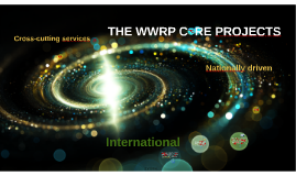 THE WWRP C  RE PROJECTS