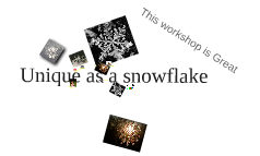 Unique as a snowflake
