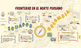Fronteras al norte del Perú