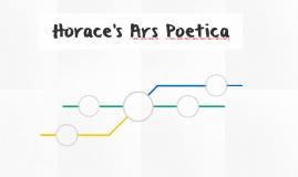 Horace's Ars Poetica