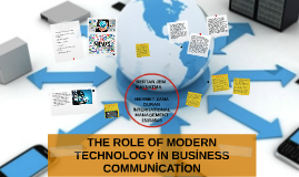 the role of modern technologies in