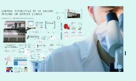 Control Estadístico de la Calidad Interno en Química Clínica