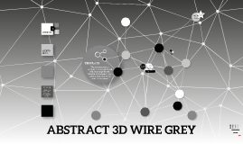 Copy of Abstract 3D Wire Grey - original