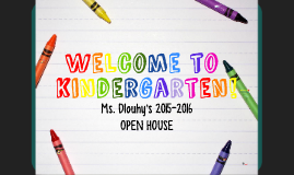 Ms. Dlouhy Open House