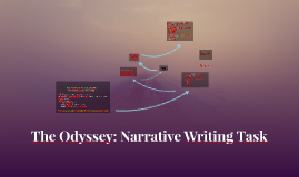 The Odyssey: Narrative POV Writing Task