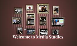 Media Studies TV display