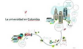La universidad en Colombia