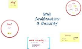 Web Architecture & Security 2017