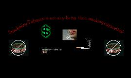 Copy of Smokeless Tobacco