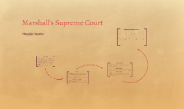 Marshall's Supreme Court- Micayla Hayden