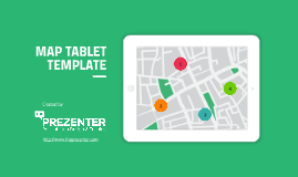Map on Tablet Prezi Template