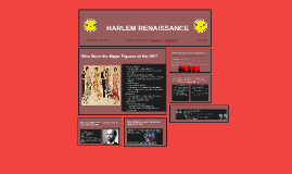 Copy of HARLEM RENAISSANCE