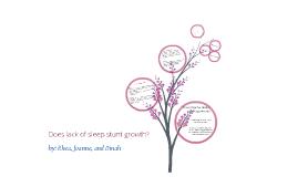 TOK - Sleep & Growth