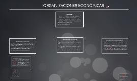 ORGANIZACIONES ECONOMICAS