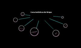 Características de Grupo