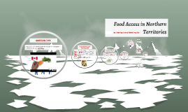 Food Access in Northern Tertitories