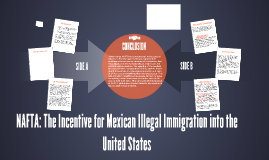 NAFTA: The Incentive for Mexican Illegal Immigration into th