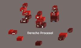 Copy of Derecho Procesal