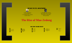 Copy of The Rise of Mao