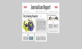 Journalism Report