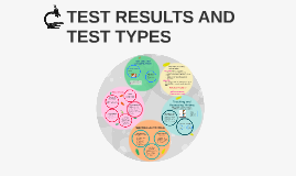 TEST RESULTS AND TEST TYPES