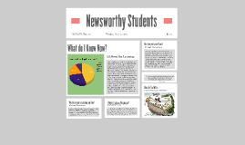 Newsworthy Students