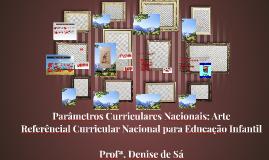 Parâmetros curriculares Nacionais: Arte