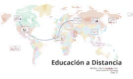 Copy of Educación a Distancia