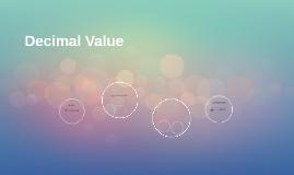 Decimal Value